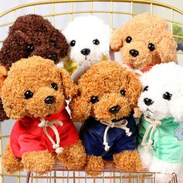 wholesale kid rag dolls Australia - Puppy Toys Teddy Dog Rag Cute Trumpet Simulation Animal Doll Plush Stuffed Peluche Kids Gift #45
