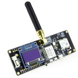 Wholesale TTGO T-Beam ESP32 433 868 915Mhz WiFi Wireless Bluetooth Module ESP 32 GPS NEO-6M SMA LORA 32 18650 Battery Holder With OLED