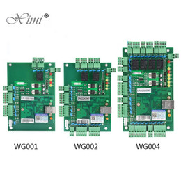 Wholesale One Door Network Access Control Panel Board With Software Communication Protocol TCP IP board Wiegand Reader for Door Use
