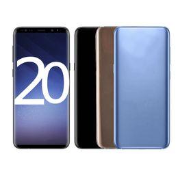 Venta al por mayor de GOPHONE 20UL TELÉFONO SMARTE 6.7UTH PANTALLA CELULAR PANTALLA COMPLETA HD CURVO CURVADO METAL 3G WCDMA Smartphone ROM: 4B RAM: 1GB