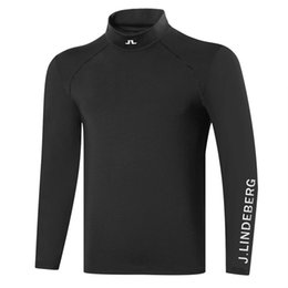 Wholesale thermal long underwear for sale - Group buy Autumn Winter New Long Sleeve Golf T Shirt Colors Men Golf Clothes JL Outdoor Leisure Sports Thermal Underwear Shirt