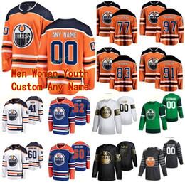 Wholesale mens silk xl resale online - Edmonton Oilers Jerseys Mens Dylan Holloway Kyle Turris Anton Forsberg Alan Quine Tyson Barrie Men Women Hockey Jerseys Custom Stitched
