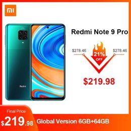 Wholesale polish player for sale – custom Global Version Redmi Note Pro quot Screen mAh Smartphone NFC Snapdragon G Octa Core MP Quad Camera GB RAM Original