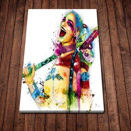 Patrice Murciano Harley Quinn Picture Wall Poster Modern Style Canvas Print Painting Art Aisle Living Room Unique Decoration