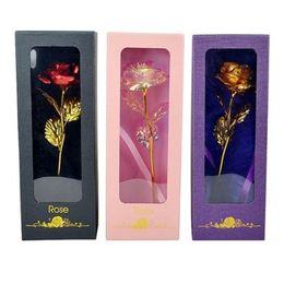 Cartões Dia dos Namorados Folha de Ouro Rosa Janela Caixa de Presente Dias Valentim Giftsteddy Bear com Base Golds Folhais Rosas em Promoção
