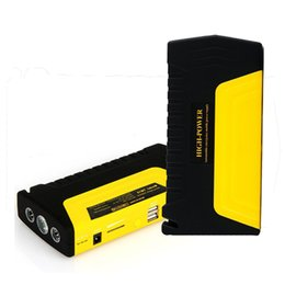 Wholesale cars jumpers resale online - 12v Gasoline Car Starter Portable mah Mini Jump Starter Car Jumper Booster Power Battery Charger Mobile Phone Laptop Power Bank