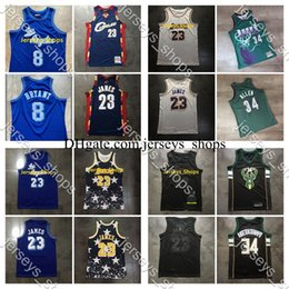 lebron camisetas al por mayor-Hombres retro