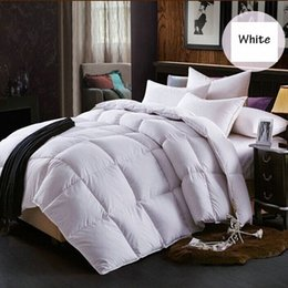 patchwork bedding UK - SongKAum New Comforter Feather Quilt!!! 95% White Down Quilt Bedding Filler Filling Queen Size Home Textile U6VM#