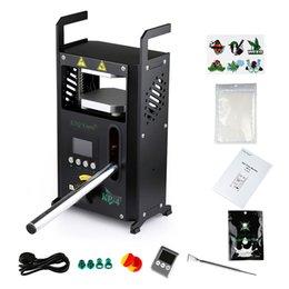 New LTQ KP-4 Rosin Tech Heat Press Machine Dual Heat Plates Manual Rosin Dab Press Vapr Heat Press Machine on Sale
