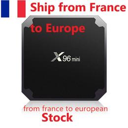 Wholesale (Ship from Europe) X96 mini Android 7.1 TV BOX 2GB16GB 1GB8GB Amlogic S905W Quad Core 2.4GHz WiFi Media Player