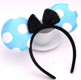 fancy dress costumes mouse Australia - Halloween Bow Fancy Dress Headband Christmas Birthday Party Adults Kids Cosplay Mouse Headbands costume accessory gift1