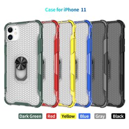 11 iphone colors Canada - 6 Colors Clear Cell Phone Case For iPhone 12 11 Pro Max Xr X Xs Max 7 8 6S Plus Back Cover Hybrid Armor Cases For Samsung Galaxy Note20 S20