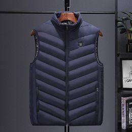 Wholesale big men casual vests jackets resale online - Men Vest Newest Autumn Winter Men Coat Warm Sleeveless Jacket Casual Vest Coat Waistcoat Big Size