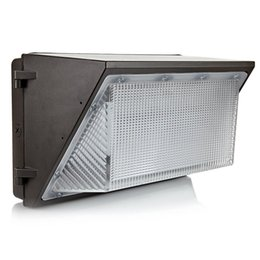 ac pack NZ - Ul Dlc Approve Outdoor Led Wall Pack Light 100w 120w Industrial Wall Mount Lighting Lamp Daylights 5000k Ac 90 -277v With Mean Well Driver