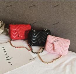 Wholesale INS Baby Girls handbag PU Letter Children metal single shoulder bag Fashion Kids messenger bag Girl designer Mini bags C4230