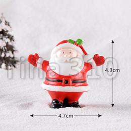 Wholesale old man socks for sale – custom Christmas Decoration Christmas old man Snowman micro landscape snowscape Ornament Christmas socks small gift bell resin ornament GGB2290
