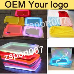 Опт OEM Custom Logo Cookies Tray runtz Glowtray LED освещает поднос Калифорния Авто Party Mode Rolling Paper аксессуары Backwoods Tray Zkittrz