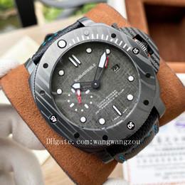 venda por atacado 2020 Alta Qualidade Pam homens relógios Joker Firenze 1860 relógios de pulso Luminor Submersible Survival Instruments Mens Watch D0045