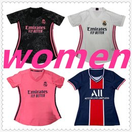 camiseta real madrid jerseys psg jordan paris españa player version 20 21 women soccer jersey football jerseys camiseta de fútbol