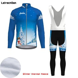 Wholesale Racing Sets SPTGRVO Tenue Cyclisme Hiver Femme Thermal Fleece Long Sleeve Cycling Jersey Set Mens Mtb Bike Clothing Warm Bicycle Cycle Suit
