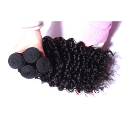 Brazilian Virgin Human Hair 3 Bundles 30-40inch Long Inch Deep wave Kinky curly Hair Extensions Double Wefts 95-100g piece Bundles on Sale
