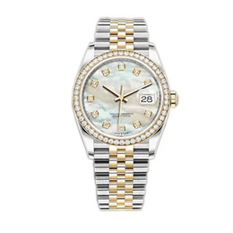 Caijiamin-U1 Fábrica Mens Mecânica Mecânica Relógios Diamante 36mm Relógios De Pulso De Aço Inoxidável Super Luminous Lady Mulheres Relógios em Promoção
