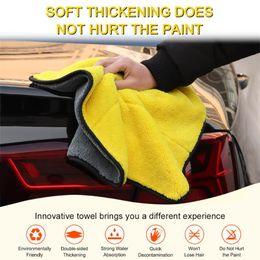 30 * 40 cm Araba Bakımı Parlatma Yıkama Havlu Peluş Mikrofiber Yıkama Kurutma Havlu Güçlü Kalın Polyester Elyaf Temizleme Bezi DHL Ücretsiz