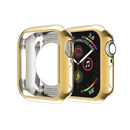 Wholesale apple watch 38mm bumper for sale - Group buy TPU bumper for Apple Watch case mm mm iWatch mm mm Protector Cover for series Accessories