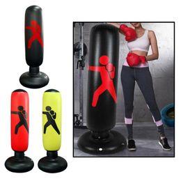 160cm Inflatable Punching Bag Adults Kids Goblet Sandbag PVC Fitness on Sale
