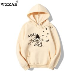 pink hoodie streetwear Canada - ASTROWORLD 2020 New Brand Hoodies Man Look Mom I Can Fly Funny Letter Print Hooded Sweatshirts Travis Scott Hip Hop Streetwear X1022