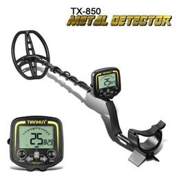Tianxun TX-850 Аксессуары для аксессуаров Металлоискатель Металлопользовательская глубина 2.5M Scanner Поиск искатель Gold Delector Сокровище Pinpointer1 на Распродаже