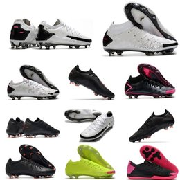 Wholesale elite fit resale online - Football Shoes Phantom GT FG Daybreak Pack Elite Academy Dynamic Fits Black Pink Blast Royal Blue soccer cleats mens scarpe calcio