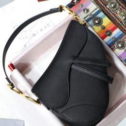 Mulheres saddle saco, famosos designer womens bolsa nova letra bolsa de ombro de alta qualidade Genuine Leatenger Bag Saddle Bag em Promoção