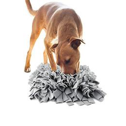 Pet Snable Mat Dog Cat Медленный кормление Коврик против проскальзывания Одеял головоломки для отвлекающего запаха Обучение, тренирующаяся для здоровья JK2012XB на Распродаже