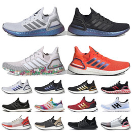 ingrosso cime di laboratorio-adidas ultraboost ultra boost Superiore all ingrosso delle donne Mens Ultraboost Scarpe da corsa a ISS US National Lab Dash Grigio Blu Scuro Valuta Red Sneakers