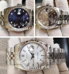 18 Style 36mm Watch Mens Automatic 2813 Jubilee Bracelet BP Factory V2 Version Watches 126234 Date Just 126200 Mother Of Pearl Wristwatches