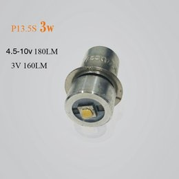 Wholesale 1 2 piece P13.5S CREE XPG2 3W bulb emergency light bulbs 3v dc4-10v 6-24v Led Bulb replacement
