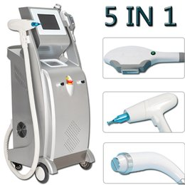 opt laser hair removal machine Australia - 5 in 1 opt laser hair removal laser ipl hair tattoo removal machine Elight pigmentation removal