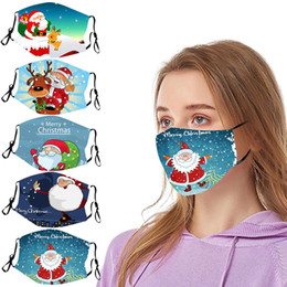 New Year 2021 Christmas Party Decaotation Cartoons for Home Christmas Face Decoration Christmas Santa Claus for Adult Xmas Gift Decor on Sale