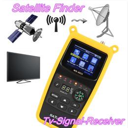 Original Satlink WS-6933 Satellite Finder 2.1 Inch LCD Display DVB-S2 FTA CKU Band Satlink Digital Satellite Finder Meter WS 6933 on Sale