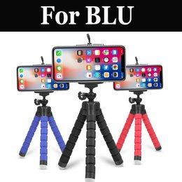 Wholesale new flexible phone resale online - New Flexible Phone Camera Selfie Stand Tripod Holder Bracket For Blu R1 Hd Studio G Hd Lte Life One X2 Vivo r Life One X2 Mini