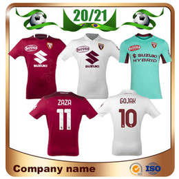 torino achat en gros de-news_sitemap_home2020 Torino Soccer Jerseys Home Ljajic Chemise de football Zaza Away Baselli Belotti Astori I Falque Uniforme de football