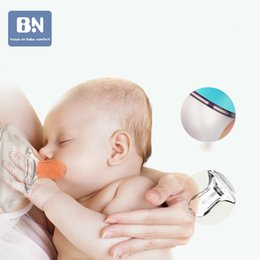 apple shaped bottle NZ - Beineng Newborn Baby Bottle PPSU Anti-Flatulence Drop-Resistant Wide Aperture Silicone Pacifier Strap Straw Handle LJ201110