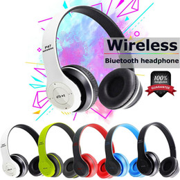 wireless headphone microphone pc Canada - NEW Headphones Bluetooth Gaming Headset Noise Reduction Smart Audio Handsfree Wireless Foldable Earphone With Microphone For PC