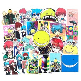 Wholesale assassination classroom resale online - Japan Stks pak Anime Assassination Classroom Voor Kids Toy Laptop Fiets Motorfiets Skateboard Telefoon Cartoon Stickers WIDE