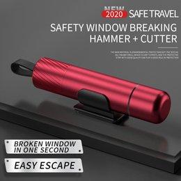 Безопасность Молот Аварийного выхода инструмент, окно автомобиля стекло Breaker и Seatbelt резец, 2-в-1 Мини для подводного рабочего спасения, разбитое окно на Распродаже