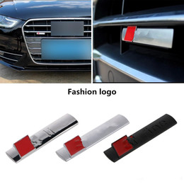 Wholesale s line resale online - New Automobiles D Metal Car Sticker S line Sticker Car Covers for Audi Sline A3 A4 A5 A6 Q3 Q5 Q7 Auto Decal Accessories Car Styling
