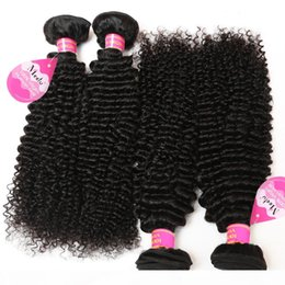 curly weave for black women 2021 - Brazilian Curly Virgin Hair 4 Bundles Virgin Brazilian Peruvian Indian Malaysian Kinky Curly Hair Weaves For Black Women