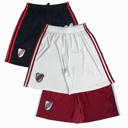 Wholesale plated pants resale online - 2021 River Plate Soccer Shorts BORRE QUINTERO PRATTO home away football Sports pants S XL