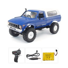 Wholesale B-14 1 16 2.4GHz RC Crawler Off-road Military Truck with Headlight RTR Automatic Vehicle Toys Car for Children Gifts HOT!
